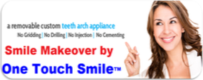 Painless Smile Makeover by One Touch Smile™. Dental Tourism Gujarat India Offer Beautiful celebrity smile by one touch smile india