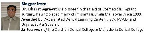 Blogger Intro Dr. Bharat Agravat
