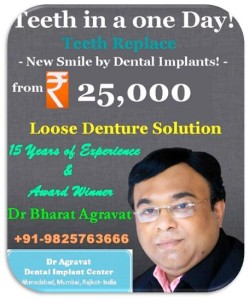 Dr Agravat Dental Implant Clinic Ahmedabad Mumbai Rajkot India